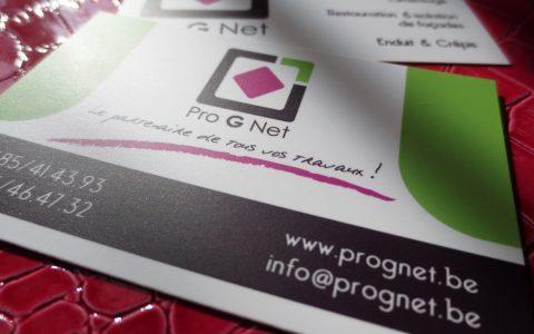 Réalisation-graphique-et-impression-carte-de-visite-mate-Pro-G-Net
